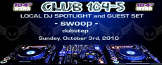 This week on club 104-5, Betamorph's very own DJ Swoop was featured as the first installment of dubstep on TOP 40 RADIO. For all of you that love dubstep you […]