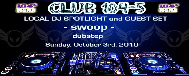 This week on club 104-5, Betamorph's very own DJ Swoop was featured as the first installment of dubstep on TOP 40 RADIO. For all of you that love dubstep you...