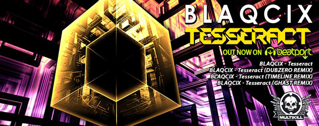 US based label MultiKill Recordings comes out swinging with its third release: Tesseract. Written by veteran artist/producer Blaqcix, this neurostep heater will transcend your mind into the constructs of the...